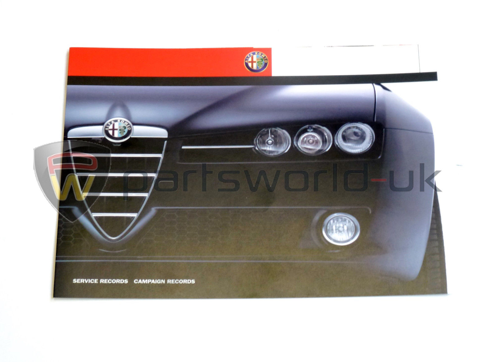 alfa romeo aftercare service history card 145 155 156 147. Black Bedroom Furniture Sets. Home Design Ideas